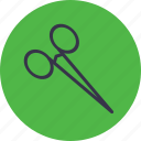 bandage, cut, medical, medicine, scissor, surgery icon