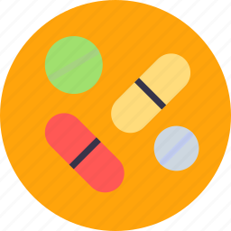 capsule, drug, medication, medicines, pill, prescribe icon