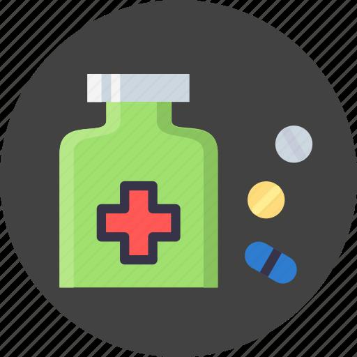capsule, drug, medication, medicines, pill, prescribe icon