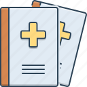 journals, magazine, medical, medical journals, presentation icon