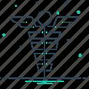 caduceus, medical, medical symbol