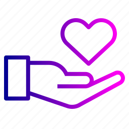 care, hand, health, life, love, medical, save icon