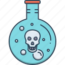 acid, dangerous, digestion, gastric, indigestion icon