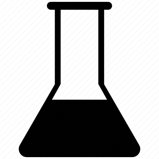 beaker, chemical, lab flask, lab test, laboratory equipment, science lab instruments icon