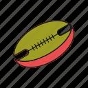 american, ball, sport icon