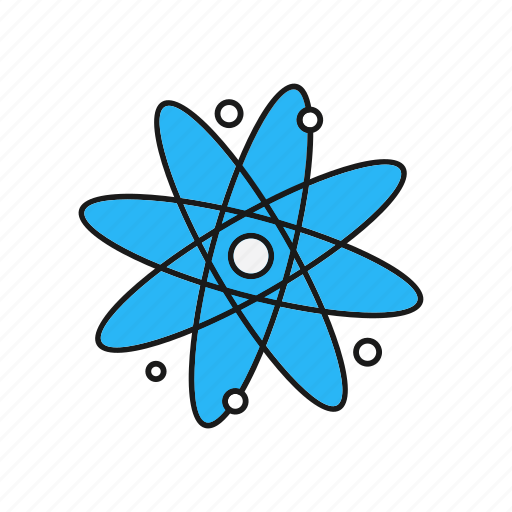 Atom, nucleus, science icon - Download on Iconfinder