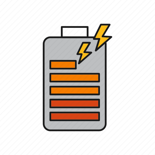 Battery, charge, power icon - Download on Iconfinder