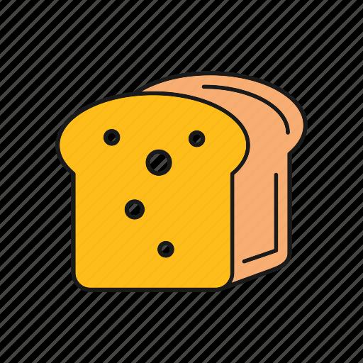 Bread, food, loaf, sliced icon - Download on Iconfinder