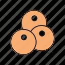 balls, cannon, pool, snooker icon