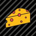 cheddard, cheese, food