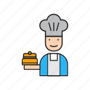 avatar, chef, cook icon