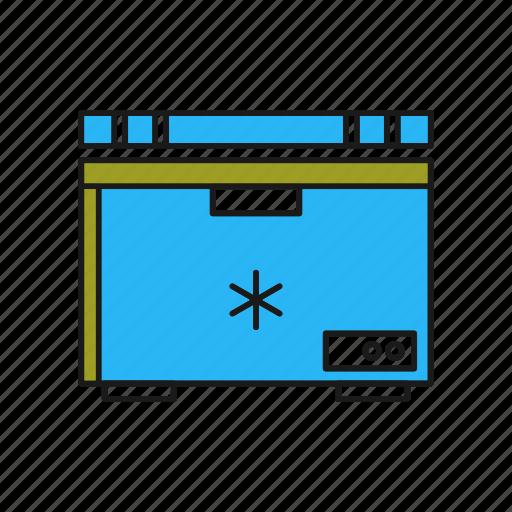 Cooling, deep, freezer, fridge, icebox, refrigerator icon - Download on Iconfinder
