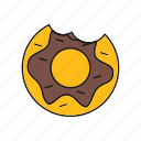 dessert, donut, doughnut, food icon