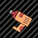 drill, perforator, power, tool