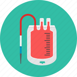 blood, blood transfusion, container, donation, donor, recipient icon