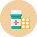 medicament, pills, tablets, pill, drug, pharmacy icon