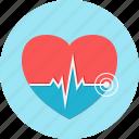pulse, cardiogram, heart, lifeline, medical, heartbeat