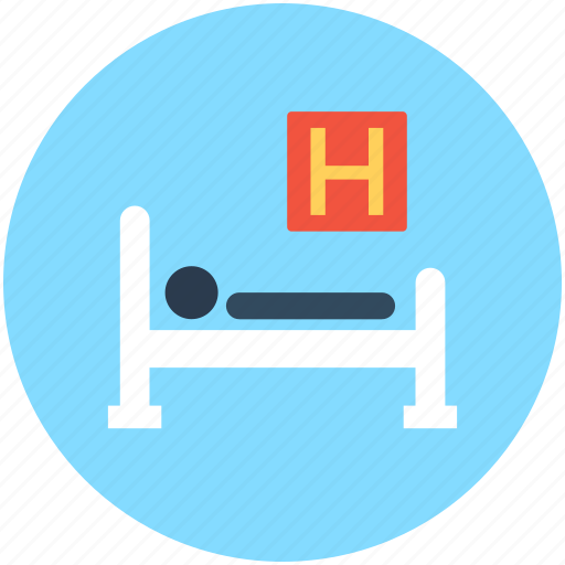 health clinic, healthcare, hospital bed, hospital room, patient bed icon
