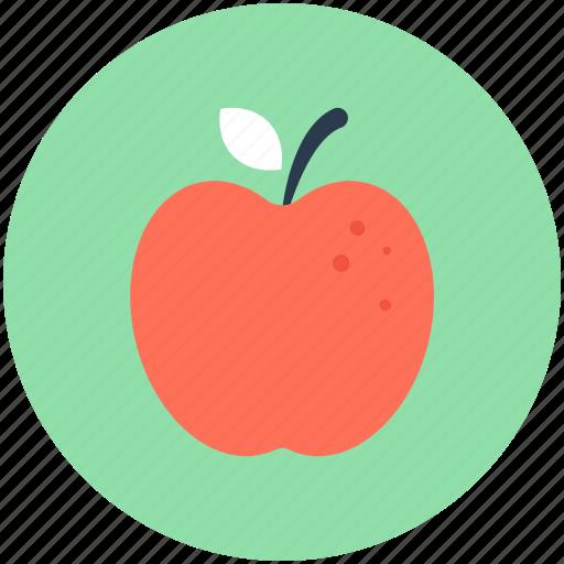 apple, diet, food, fruit, healthy food icon