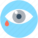 body organ, eye, eye drops, human eye, human organ icon