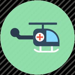 air ambulance, emergency flight, medevac, medical flight, medical helicopter icon