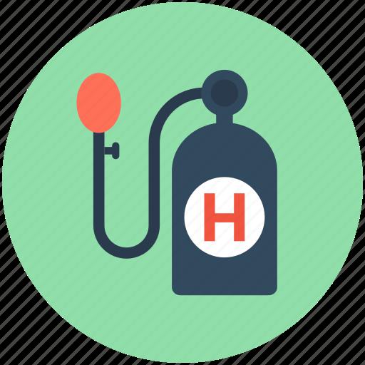 breathing gas, gas cylinder, hydrogen cylinder, hydrogen gas, hydrogen tank icon