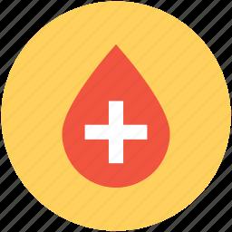 blood aid, blood drop, hospital, medical aid, medical drop icon