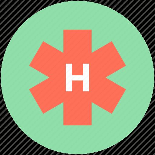 hospital sign, hospital symbol, medical, medical star, star of life icon