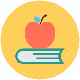 apple, book, diet book, diet guide, nutrition book icon