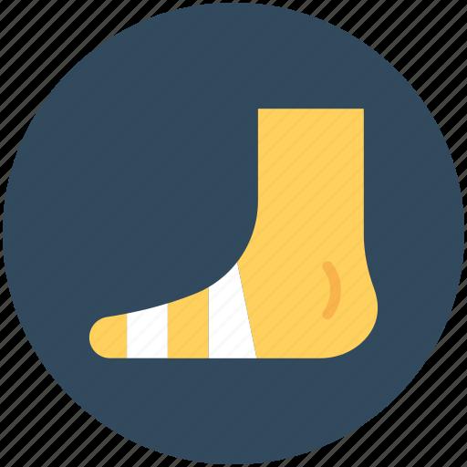 body organ, body part, foot, human foot, human organ icon