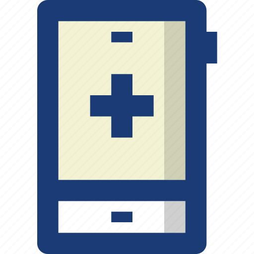 application, health, hospital, medical, smartphone icon