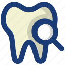 check, dentist, health, medical, teeth icon