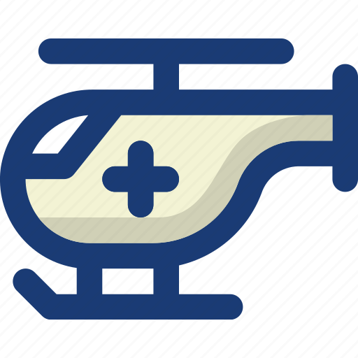aid, air, emergency, health, helicopter, medical, vehicle icon
