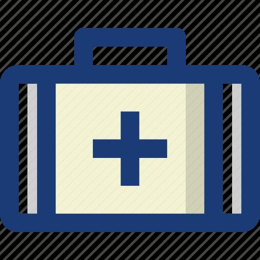 aid, bag, box, first, health, hospital, medical icon