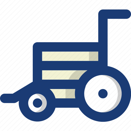 chair, health, medical, seat, vehicle, wheel icon