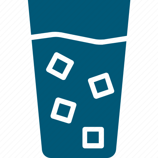 cold drink, drink, glass, soda, soft drink icon