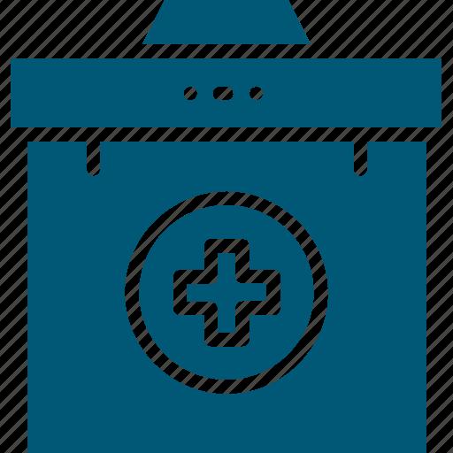 first aid, first aid box, first aid kit, medical aid, medical box. icon