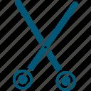 cutting tool, scissor, shear, surgical scissor, surgical tool icon