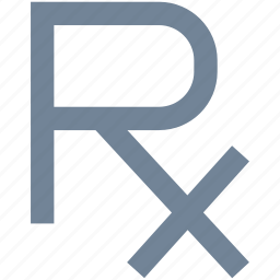 healthcare, line, medical, recipe, rx icon