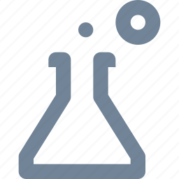 chimistry, experiment, gas, glass, healthcare, laboratory, line, medical, science, tube icon