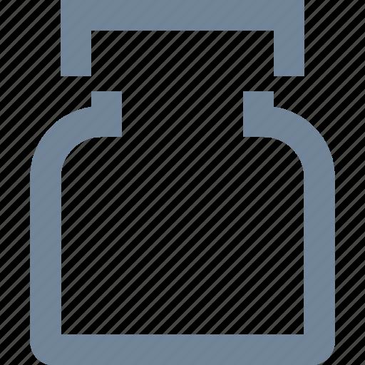 bottle, healthcare, line, medical, medication, pills icon