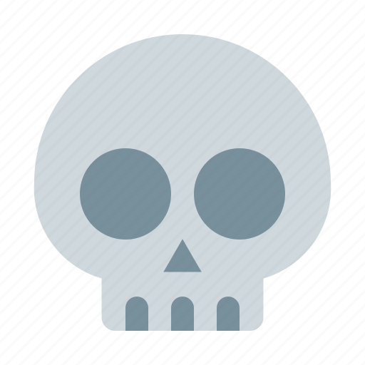biology, health, medical, skull icon