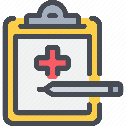 clipboard, healthcare, hospital, medicial, report icon