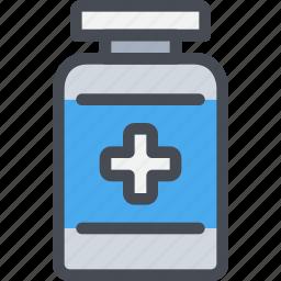 healthcare, hospital, medicine, pharmacy, pills icon