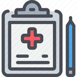 clipboard, healthcare, hospital, medical, report icon