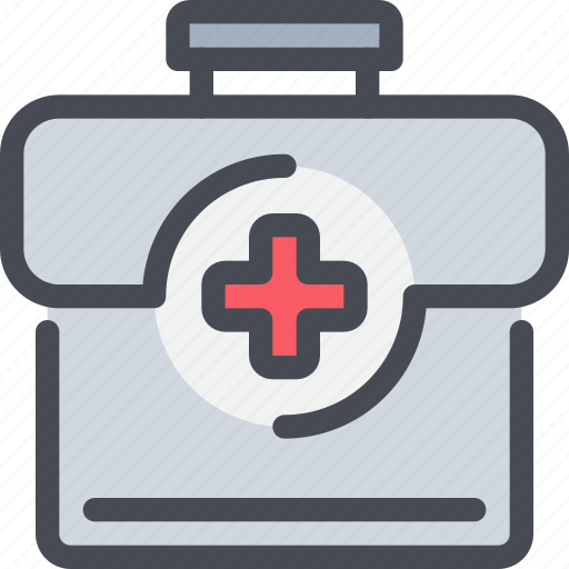 aid, first, healthcare, hospital, kit, pharmacy icon