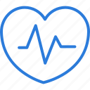 health, heart, heartbeat, life, line, medical, pulse icon