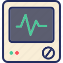 health, heartbeat, hospital, medical, monitor, pulse icon