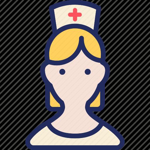 avatar, female, health, healthcare, medical, nurse icon