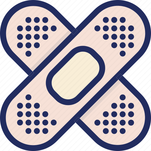 band aid, band-aid, fix, health, medical, medicine icon